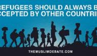 Online Debate Refugees should always be accepted by other countries?