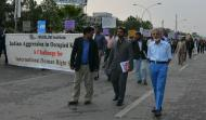 Former Ambassador & renowned Columnist Asif Ezdi also participated in the walk