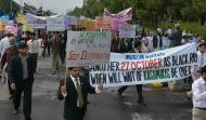 MUSLIM Institute organized a Walk on 27th October 2013 (Black Day of Kashmir)