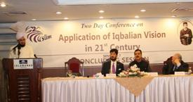 Two Day Conference on Application of Iqbalian Vision in 21st Century Opening Session