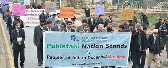 Walk on Kashmir Solidarity Day - 5 February 2014