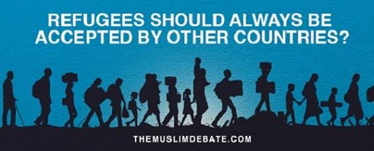 Conclusion of Online Debate Refugees should always be accepted by other countries?