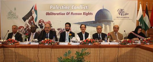 Seminar on Palestine Conflict : Obliteration of Human Rights