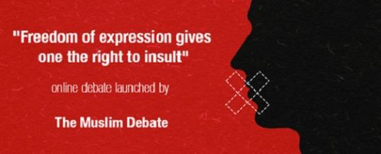 Online Debate: Freedom of expression gives one the right to insult
