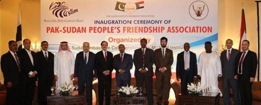 Inaugural Ceremony Pakistan Sudan People