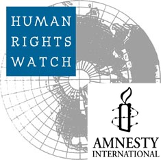 Human Rights Watch & Amnesty International