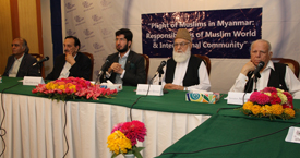 Plight of Muslims in Myanmar - Responsibilities of Muslim World  and International Community