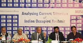 Photos of RTD on Analyzing Current Situation of Indian Occupied Kashmir