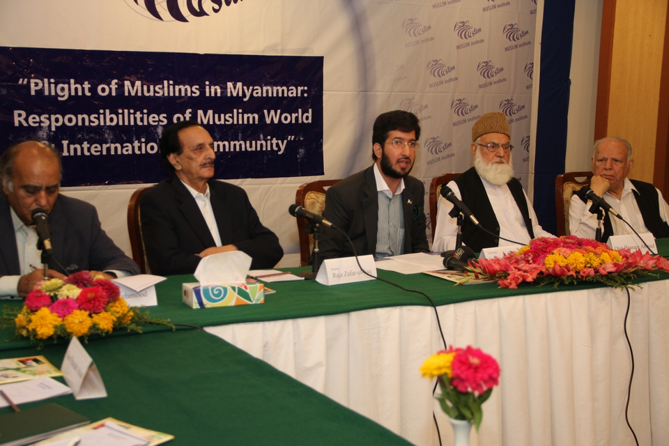 Seminar on Plight of Muslims in Myanmar